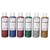 ART PLUS Boîte de 6 x 250ml de gel pailleté couleurs assorties