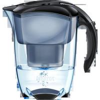 Brita Wasserfilter Elemaris Cool schwarz m.BritaMeter 1,4L gef