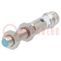 Senzor: indukčný; Konf.výstupu: PNP / NO; 0÷1mm; 10÷30VDC; M5; IP67
