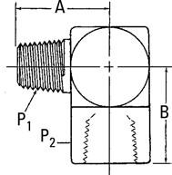 AEROQUIP 2089-2-4S