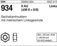 Sechskantmuttern M10-LH