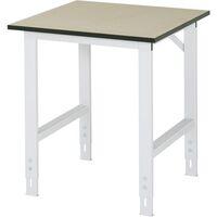 Werktafel, in hoogte verstelbaar