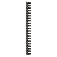 GBC Plastic inbindruggen 4028182 A4 25 mm Zwart 50 stuks