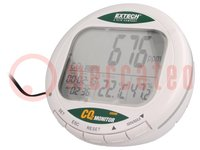 CO2 meter; Bereik:0÷9999ppm (CO2); -10÷60°C; Display: LCD