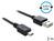 Anschlusskabel USB 2.0 EASY Stecker A an mini Stecker, schwarz, 3m. Delock® [83364]