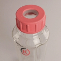 Dispersing vessels POLYTRON® GS Type GS 100-5 Capacity 5000 ml Diam. 185 mm Height 225 mm Thickness 1.2 mm Description S