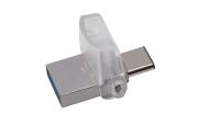 Kingston Technology DataTraveler microDuo 3C 32GB USB flash drive USB Type-A / USB Type-C 3.2 Gen 1 (3.1 Gen 1) Zilver