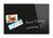 Be!Board Glas-Magnettafel, 60x40 cm, schwarz