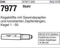 Kegelstifte 10x60
