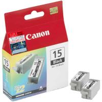 Canon Cartridge BCI-15 Black Eredeti Fekete 2 dB