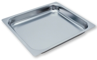 RIEBER GN-Einschubblech Mod. 23 041 Einschubblech mit glattem Rand, GN 2/3