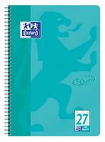 Oxford Touch Collegeblock A4+ L.27 aqua, 80 Blatt 90g/m² Optik Paper