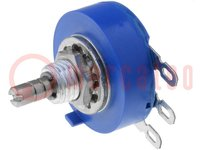 Potentiometer: axial; 1-Drehung; 10kΩ; 2W; ±10%; 3,18mm; linear