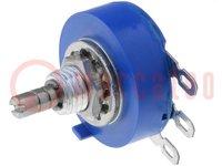 Potentiometer: axial; 1-Drehung; 10kΩ; 2W; ±10%; 3,18mm; linear