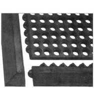 G-Kantenprofil schwarz o.Knopfl.990X75mm
