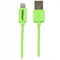 StarTech.com 1 m groene Apple 8-polige Lightning-connector-naar-USB-kabel voor iPhone / iPod / iPad