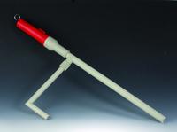 Artikelabbildung - Kabellose Säuren- und Laugenpumpe aus PP; Saugrohrlänge mm 400