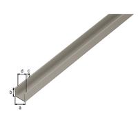 U-Profil f.Spanplatten 16/19 mm, Alu silber elox., LxBxS 1000 x 19 x 15 x 1,5 mm