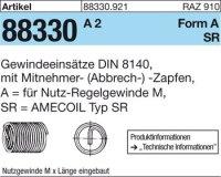 AMECOIL-Gew.einsätze M6x15