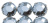 Farbauswahl: Glas-Strass-Spitzoval, 16x4 mm
