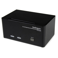 StarTech.com 2-poort Triple monitor DVI USB KVM-switch met audio en USB 2.0-hub