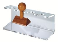 Acrylic Stamp Holder, straight form for 4 stamps