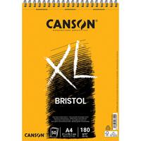CANSON Bloc de 50 feuilles de papier dessin XL BRISTOL 180g grand format A4