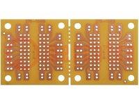 Lemez: univerzális; egyoldalú, prototípus; W:45mm; L:91mm