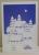 """Detailabbildung - Weihnachtskarte """"lila"""" - 2 Einschübe"""