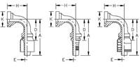 AEROQUIP 1G16FLB16