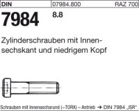DIN7984 M6 x 20|mm
