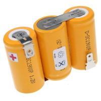 AccuPower akkumulátor kézi porszívó 3,6 Volt, 2100mAh