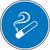 Modellbeispiel: Gebotsschild, Rauchen gestattet (Art. 21.0609)
