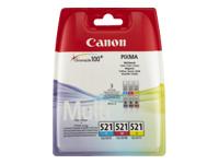 Canon CLI-521 C/M/Y Drei-Farben-Multipack