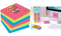 Post-it Bloc-note Super Sticky Notes, 76 x 76 mm (9065465)