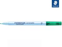 Lumocolor® correctable 305 Trocken abwischbarer Universalstift F grün