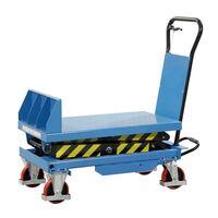 Pochylany podnośnikowy wózek stołowy