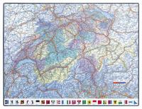 """PP-Schreibunterlage """"GeoPad"""" Schweiz"""