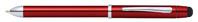 Multifunktionsschreibgerät Tech 3+ Rot Lack, mit Chromelementen, in Geschenkbox