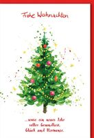 Karte Weihnachten Motiv