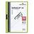 DURABLE Chemise de présentation Duraclip 30 à clip, couverture transparente - 1-30 feuilles A4 - Vert