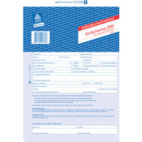 Avery Formular Kaufvertrag f.g.KfZ A4 4-fa Satz SD