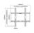 NewStar Flachbildschirm-Wandhalter 7-in1 Starter Kit, PLASMA-WKIT1