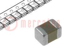 Condensador: cerámico; 100nF; 50V; X7R; ±10%; SMD; 0805; Serie: GCM