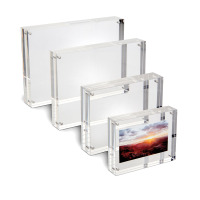 Acrylic photo holder 7,5 x 5 x 2 cm