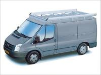 Dachgepäckträger aus Aluminium für Ford Transit, Bj. 2000-2014, Radstand 3300mm, Hochdach