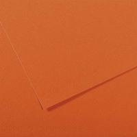 CANSON Manipack de 25 feuilles papier dessin MI-TEINTES 160g 50x65cm Orange