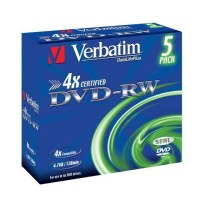 VERBATIM DVD-RW 4 - 43285