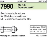 DIN7990 M12x130