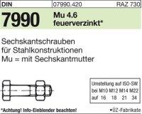 DIN7990 M24x100